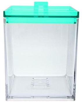ظرف نگهداری مواد خشک آبی 1.4 لیتری