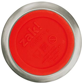 ماگ دوجداره استیل قرمز 350 میلی لیتری