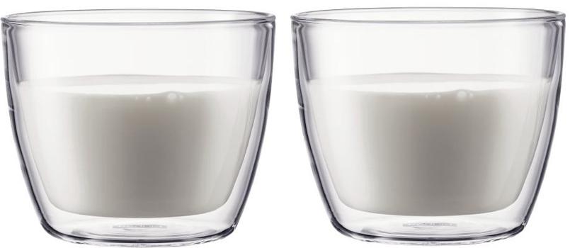 لیوان دوجداره شیشه ای بیسترو
