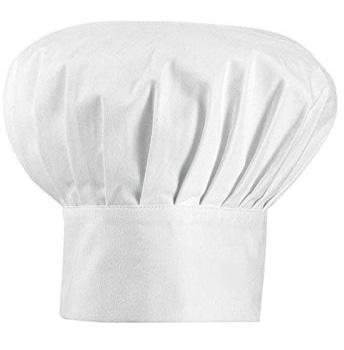 کلاه آشپزی سفید 31x27 سانتیمتری