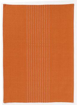 حوله آشپزخانه پرتقالی 50x70 سانتیمتری