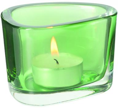 جاشمعی شیشه ای سبز ارگانیک
