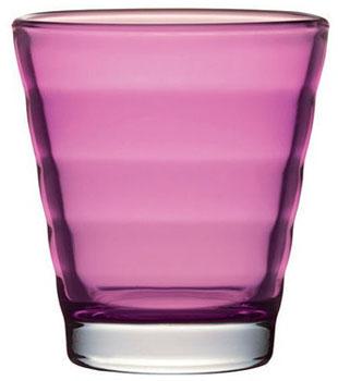 لیوان شیشه ای صورتی 250 میلی لیتری ویو