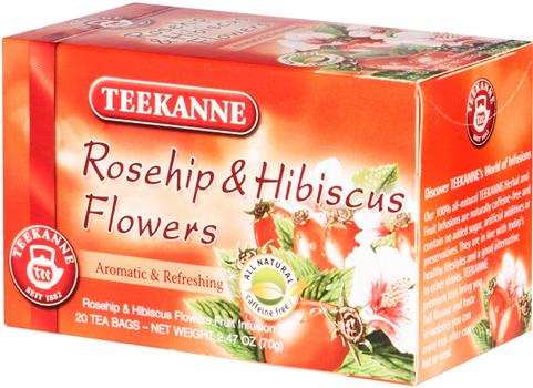دمنوش گیاهی چای ترش و گل سرخ