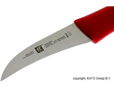 چاقوی پوست گیر دسته قرمز 50 میلیمتری توئینگریپ