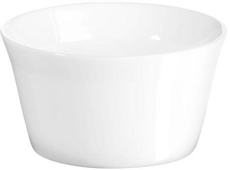 ظرف مخصوص فر سرامیکی سفید 8.5 سانتیمتری