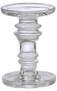 پایه شمع شیشه ای بزرگ