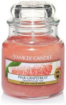 شمع کوچک گریپ فروت صورتی