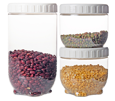 ست 3 عددی ظرف نگهداری مواد خشک