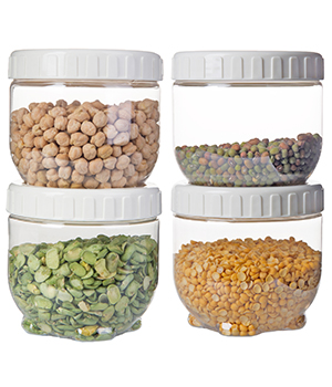 ست 4 عددی ظرف نگهداری مواد خشک