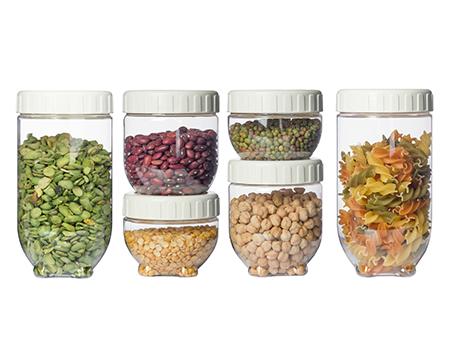 ست 6 عددی ظرف نگهداری مواد خشک